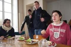 Des étudiants du collectif formé autour du Manifeste étudiant pour un réveil écologique.