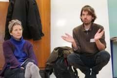 """A coté de Cécile Renouard, Rémi Beau, également copilote sur le projet. Il est professeur de philosophie et auteur de """"Ethique de la nature ordinaire"""",  un des pilotes du projet FORTES."""
