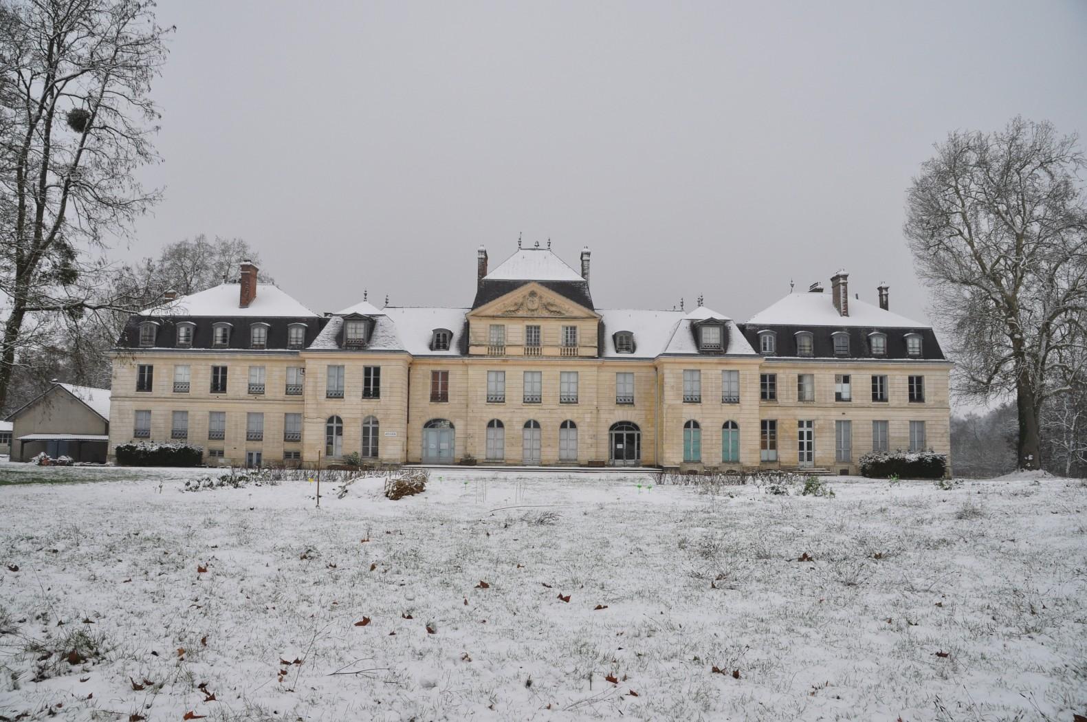 Le Campus est sous la neige !
