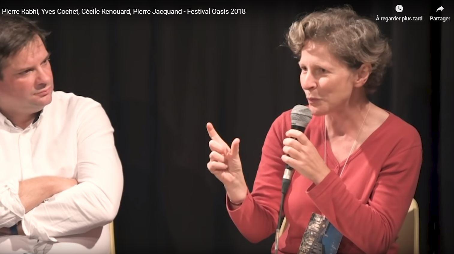 Table Ronde «La puissance politique des oasis», avec Cécile Renouard