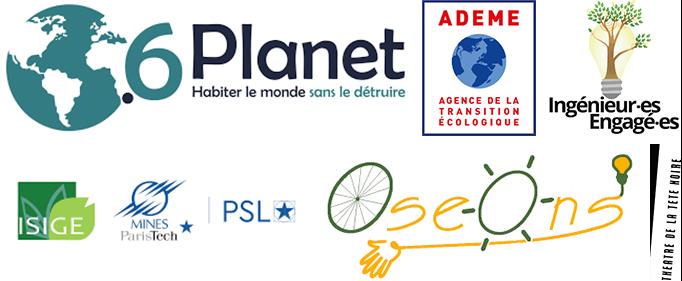 Logos financeurs Low-tech